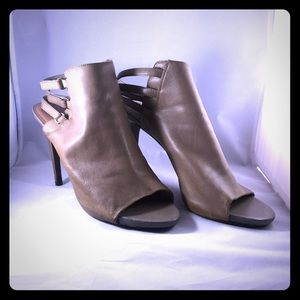 Grey Vince Camuto Strappy Shooties